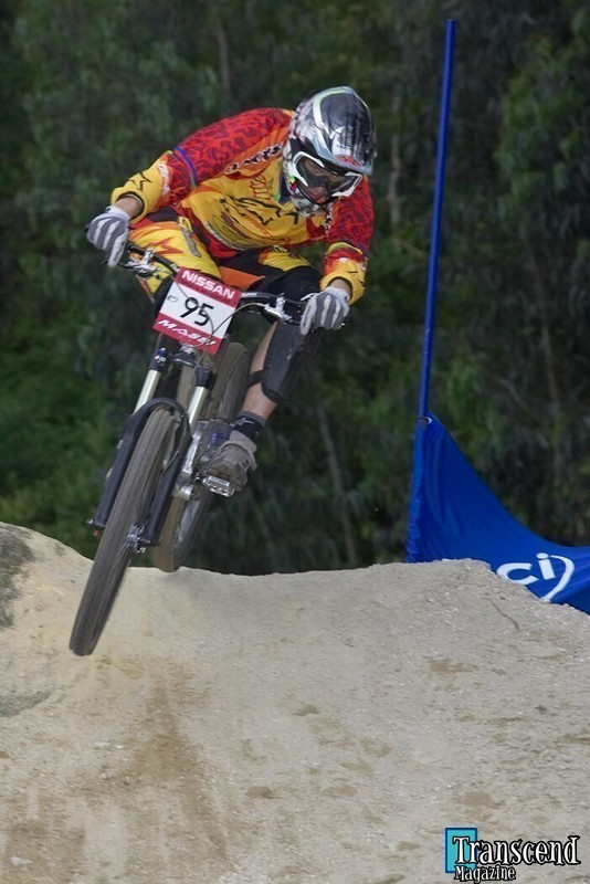 Greg Minnaar a Vigo