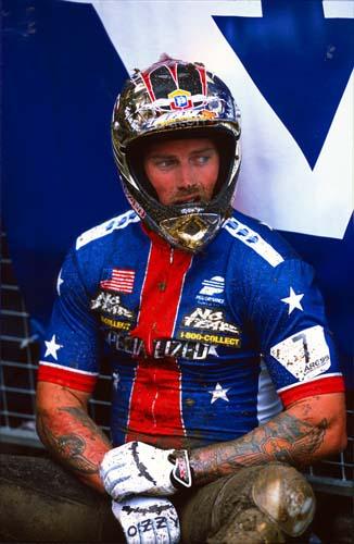 Shaun Palmer ad Are nel 1999 ©Geoff Waugh