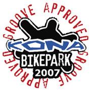 Il logo dei bike park Kona