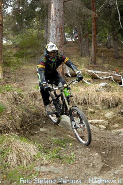 Sam Hill in azione