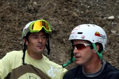 Brian Lopes con l\'amicone Cédric Gracia