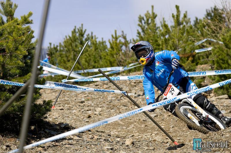 Alan Beggin a Vallnord (foto TranscendMagazine.com)