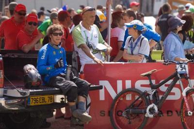 Edoardo Franco sull'hot seat in Val di Sole
