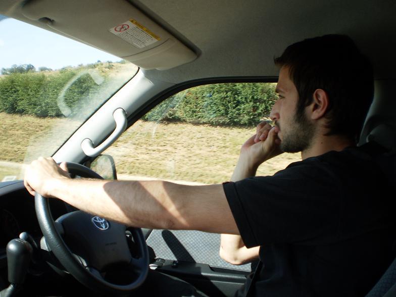 Claudio Cozzi super-impegnato alla guida