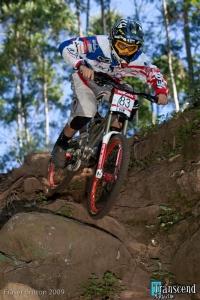 Lorenzo Suding in gara (foto Fraser Britton - Transcendmagazine.com)